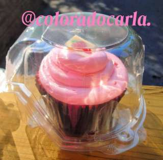 Single CUPCAKE Cake container wedding favor box Party 1
