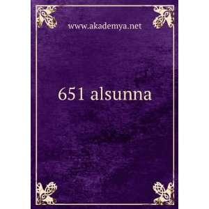 651 alsunna www.akademya.net Books