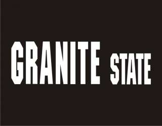 GRANITE STATE Funny T Shirt New Hampshire Nickname Tee