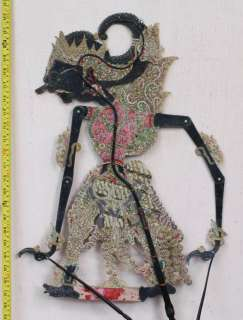 Vintage Wayang Kulit Shadow Puppet Indonesian GIFT co85