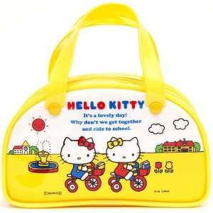 cute yellow mini Hello Kitty handbag Boston Bag Toys
