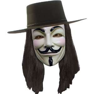 V for Vendetta Wig   Officially Licensed Accessory Toys