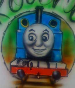 AIRBRUSHED THOMAS THE TANK ENGINE THOMAS THE TRAIN T SHIRTS AIRBRUSH