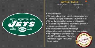 New York Jets NFL Football Logo Car Bumper Window Wall Sticker