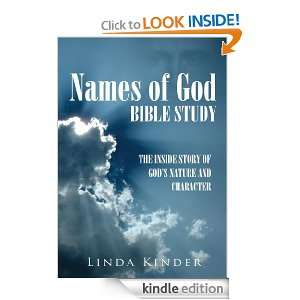 Names of God Bible StudyThe inside story of Gods Nature and
