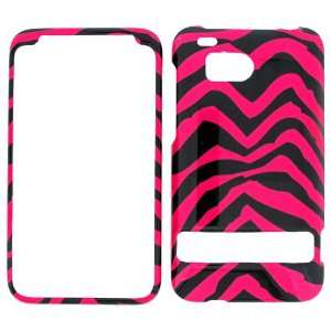 VERIZON HTC DROID THUNDERBOLT PINK ZEBRA HARD PROTECTOR