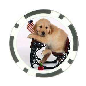 Cute School puppy Poker Chip Card Guard Great Gift Idea