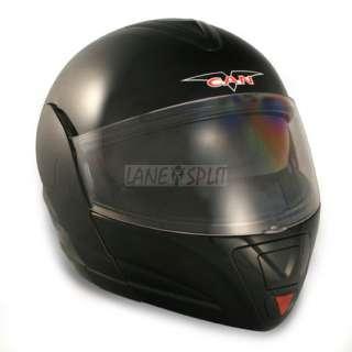 Vcan BLINC 210 Flip Face Modular Bluetooth Helmet (BLACK, Extra Large)