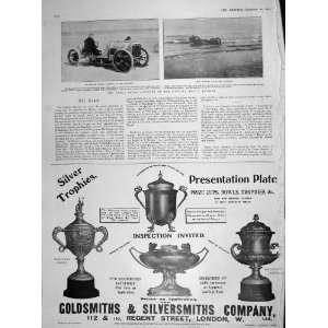 : 1905 FRANK CROKER FATAL MOTOR CAR ACCIDENT FLORIDA: Home & Kitchen