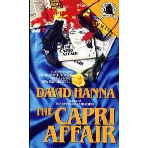 Capri Affair (Crime Court Mystery) (9780843950045): David Hanna: Books