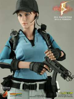 HOT TOYS RESIDENT EVIL 5 JILL VALENTINE BSAA FIGURE NEW