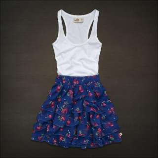 NWT Hollister Abercrombie Women Fountain Valley Dress