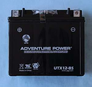 UTX12 BS YTX12 BS Honda ATC250ES Big Red ATV Battery 806593420320