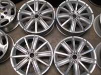 09 11 VW Tiguan Factory 18 Wheels EOS Jetta Golf CC Passat OEM Rims