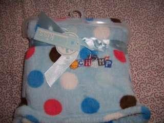 Baby Kiss Super Soft Champs Blue Baby Boy Receiving Crib Stroller