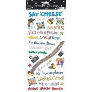 me & my BiG Ideas Photo Kids Sayings Stickers Arts, Crafts & Sewing