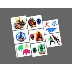 Power Rangers Samurai Tattoos 16ct [Toy] [Toy] Toys