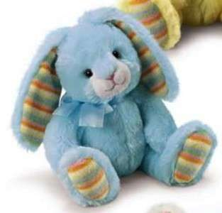 RUSS Berrie Pale Blue Bunny Rabbit Soft Plush Easter Toy/Gift Sml
