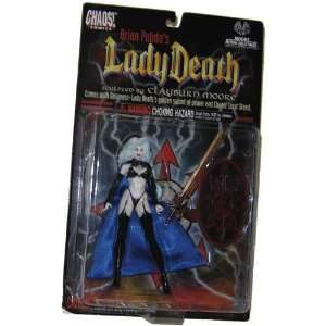 Chaos! Comics Lady Death Action Figure Exclusive Chrome