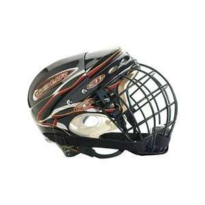 Tour Senior Aerial Silver Shadow Helmet No Cage Sports