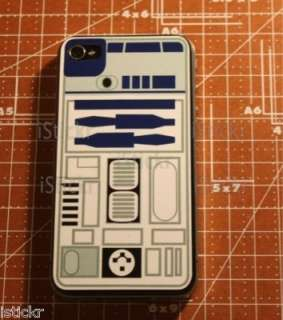 R2D2 Star Wars iPhone 4 Decal Sticker Skin