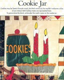Quilt Block, Wall Hanging & Apron applique quilting patterns