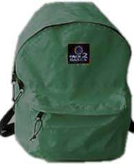 New Back Pak Day pack Shcool Book Bag Backpack Green NR