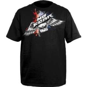 No Fear Average Joe Black T Shirt (SizeM) Sports