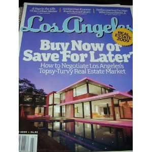 LOS ANGELES MAGAZINE March 2009 REAL ESAE 2009 Ki