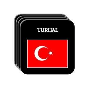 Turkey   TURHAL Set of 4 Mini Mousepad Coasters
