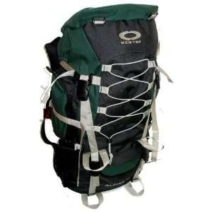 Green Internal Frame Hiking Backpack Travel Bag