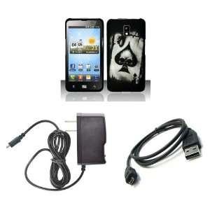 (Verizon) Premium Combo Pack   Black and White Ace Spade Poker