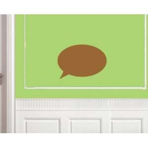 com Text Box Round Shapes Vinyl Wall Decal Sticker Mural Quotes Words