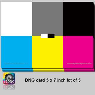 You are bidding on 1 lot of three (3) Digital Neutral 18% Grey Cards