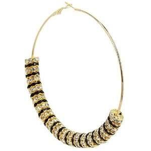 Basketball Wives Inspired Hoop Earrings   Celebrity Gold