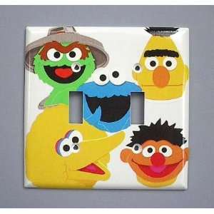 Switch Plate Switchplate Big Bird Bert Ernie Oscar Home & Kitchen