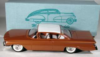 1960 Oldsmobile Promo like Model Car STUNNING TWO TONE COPPER WHITE