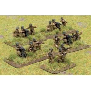 Flames of War   French: Machine gun Platoon: Toys & Games