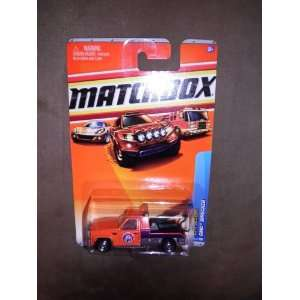 2010 CITY ACTION CITY TOWING SERVICE ORANGE GMC WRECKER: Toys & Games