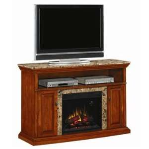 Classic Flame Brighton TV Stand with 23in Electric Fireplace Inset