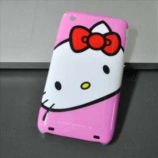 Hello Kitty Hard Case Cover For iPhone 3 3G&3GS New i90
