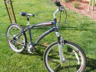 Schwinn Mens Mid Town Beach Full Suspension Bike