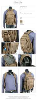 NWT MENS VINTAGE LOOK TRAVELING OUTDOOR BACKPACK MILITARY BAG MP001