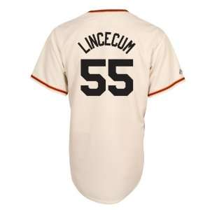MLB Tim Lincecum San Francisco Giants Replica Home Jersey