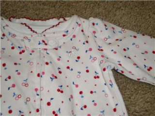Large lot baby girl clothes size Newborn *Carters, full outfits, some