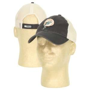 Miami Dolphins 2 Tone Trucker Style Adjustable Hat  Blue