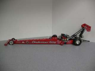 Kenny Bernstein Budweiser NHRA Top Fuel Dragster 1/24   Action