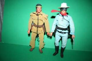 Ranger Figure doll Gabriel Tonto + Silver and Scout SUPER