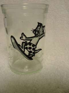 Welchs TOM&JERRY COLLECTIBLE GLASS,1990 CARTOON SERIES