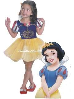New Disney Snow White Ballerina Costume Shoe 2T 3T/4T